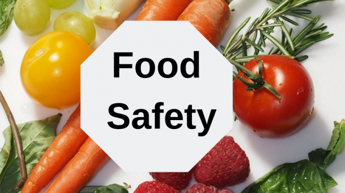 Information About Food Safety Training.